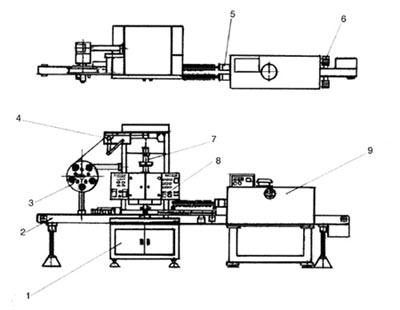 Принципиальная схема машины